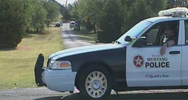 Investigators Return To Mustang Neighborhood Of Slain Fire Chief