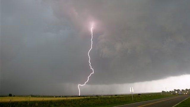 Lightning Sparks Fires In Metro