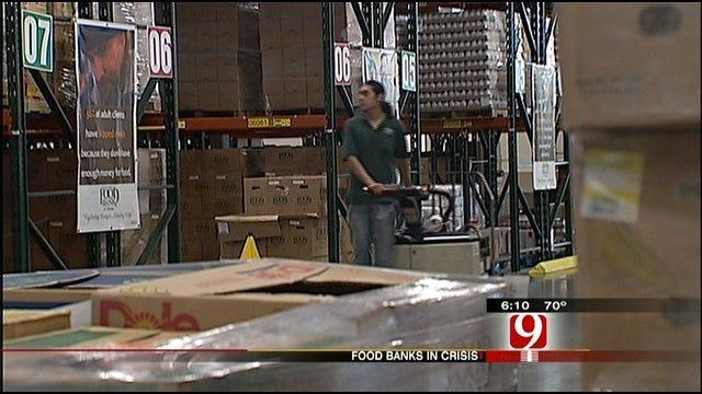 Oklahoma Food Banks Hit Hard By Recession