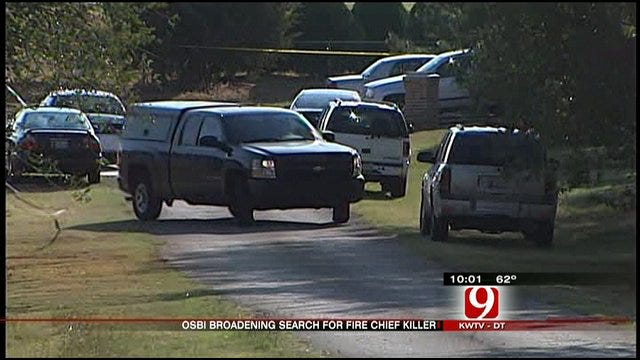 OSBI Broadens Search In Chief Bryan's Murder