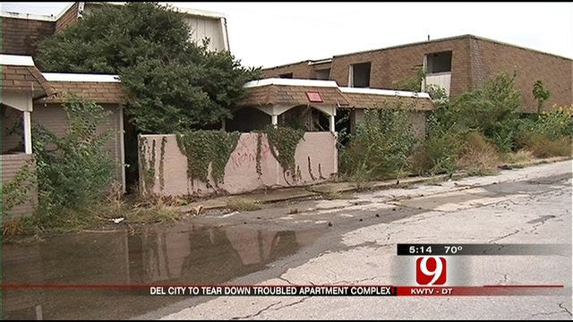 Troubled Del City Apartment Complex Turned Over To City