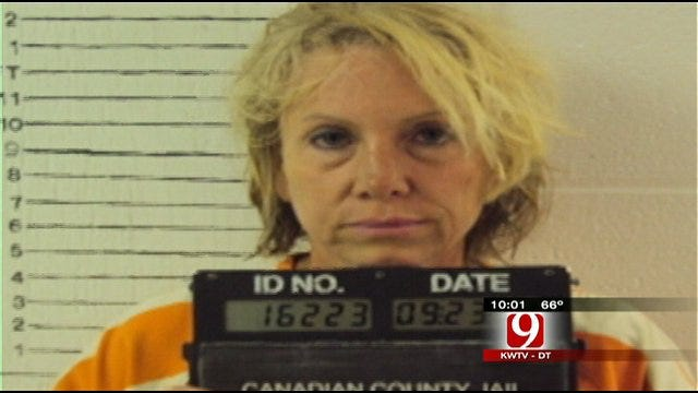 Chief's Wife Booked Into Jail On Murder Charge