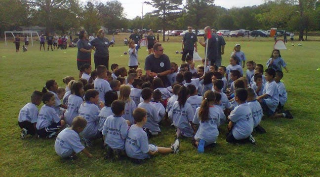 Police Athletic League Soccer Academy Helps At Risk Youth