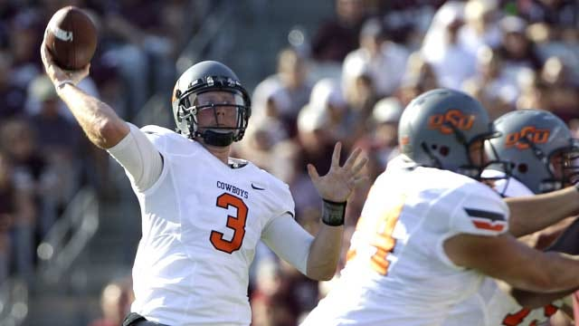 Brandon Weeden Named Walter Camp Player Of The Week