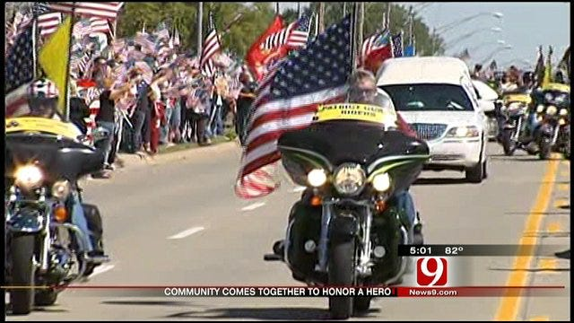 Minco National Guard Soldier Laid To Rest