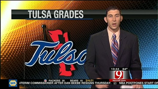 Tulsa Report Card Against Boise State