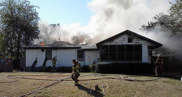 Midwest City Home Fully Engulfed In Fire