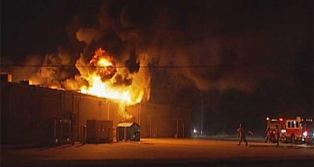 OKC Fire Destroys Pike Pass Office