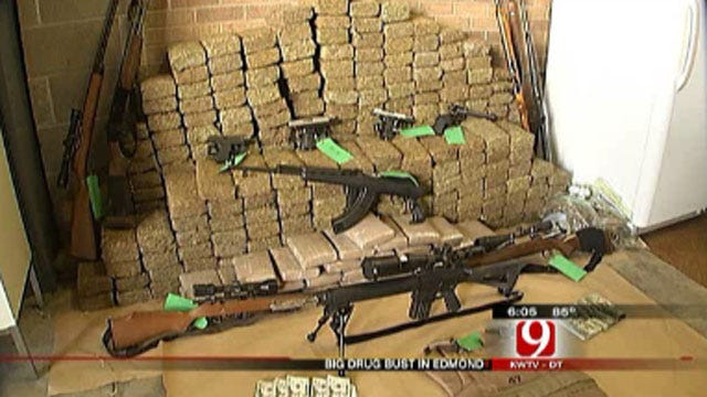 Police Make Major Drug Bust In Edmond