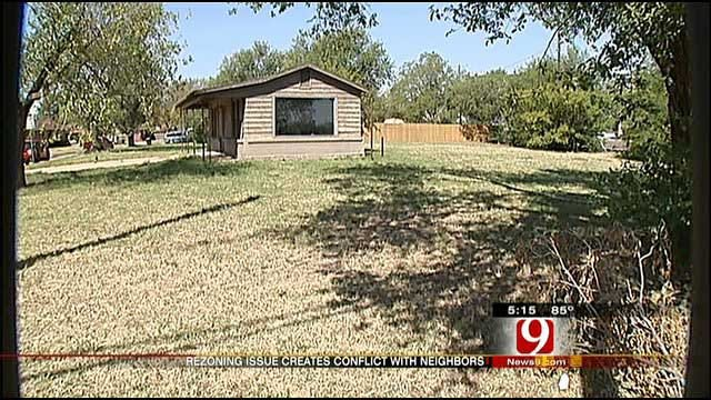 Reconstruction Of NW OKC Property Creates Conflict With Neighbors