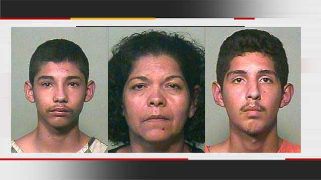 Testimony Begins Against Mom, Sons Accused In Attacking Officer