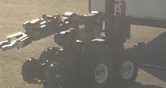 Bomb Squad On Scene Of Explosion Near OKC Church