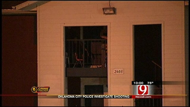 Oklahoma City Man Shot, Walks To Nearby Home For Help
