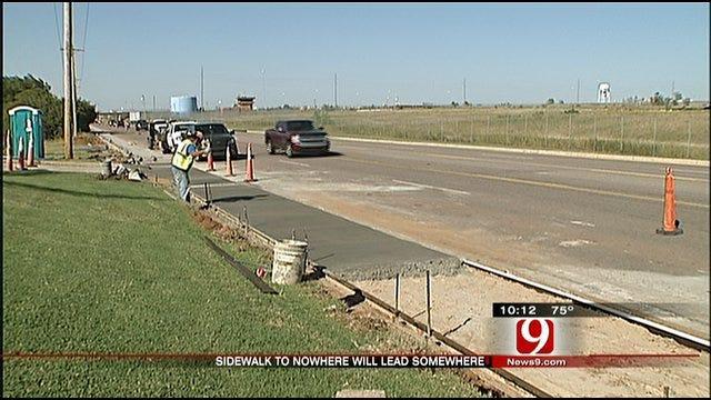 Where Does This Oklahoma City Sidewalk Go?