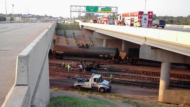 Three Killed As Car Goes Off Bridge On I-35 In Oklahoma City