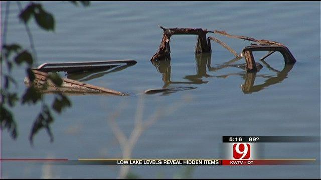 Oklahoma City Lake Runs Dry, Reveals Its Bottom