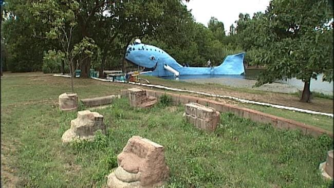 Catoosa Blue Whale Gets Makeover