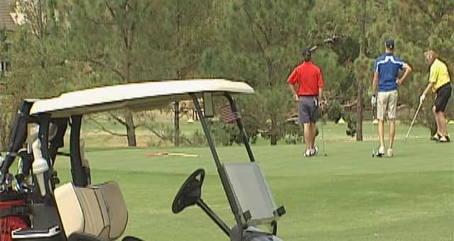 Oklahoma Golfers Give Back During Patriot Golf Day