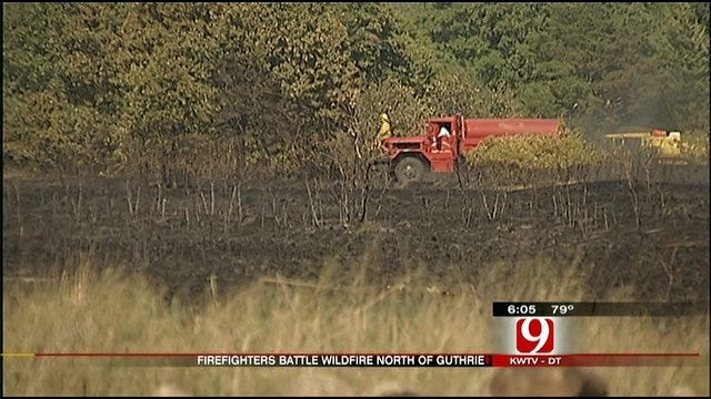 Guthrie Grass Fires Contained