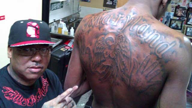 Kevin Durant Tattooed From Front To Back