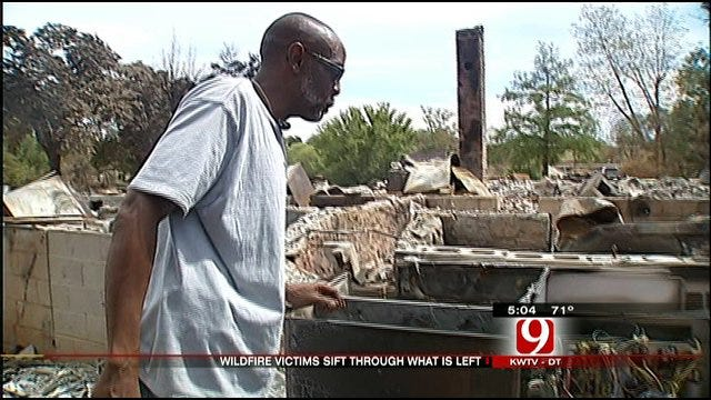 Burned Out OKC Homeowners Total Up Losses One Week Later