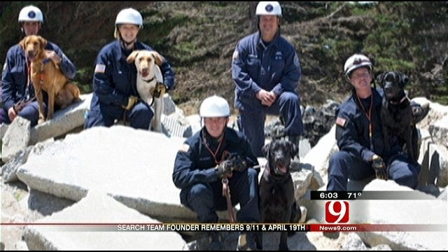 Search Dog Teams Grow With One Woman's Efforts