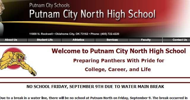 Broken Water Line Closes An OKC High School On Friday
