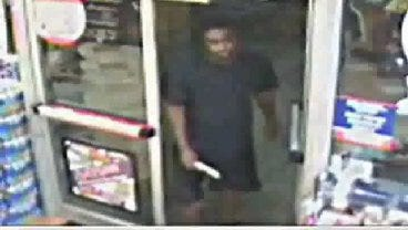 Suspect Dives For Cash Register During OKC Robbery