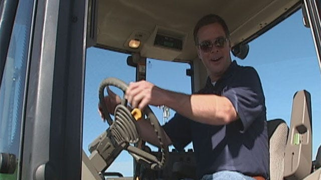 Robin, Jed Visit Free Fair In Shawnee