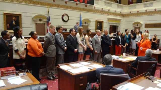 Cowgirl Basketball Honored By State Senate