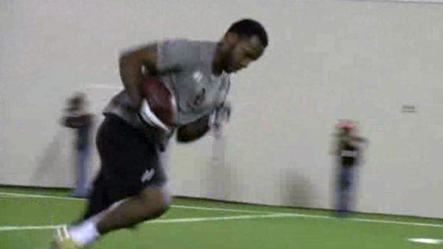 OU's Ryan Broyles Turns Heads At Pro Day