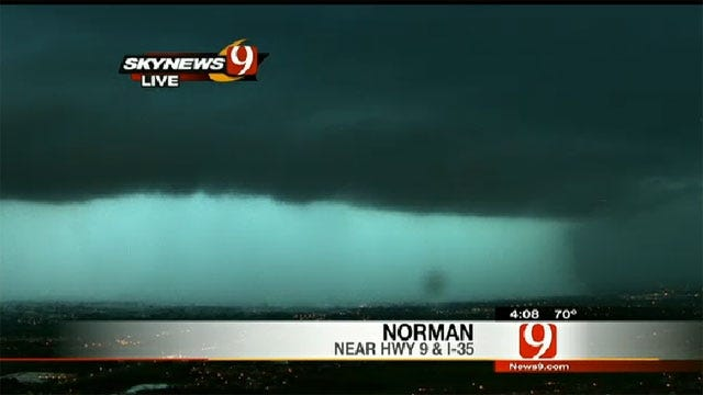 Tornado Watches Remain In Effect For Oklahoma Counties
