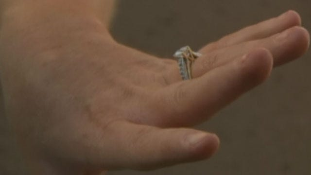 Woodward Woman Finds Wedding Ring, Family Dog In Tornado Rubble
