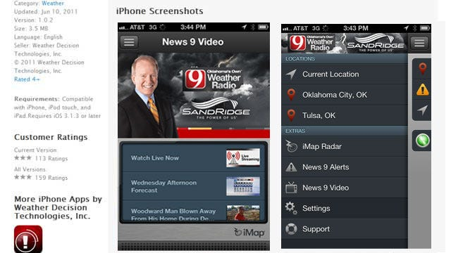Get The News 9 Weather Radio App FREE For A Limited Time