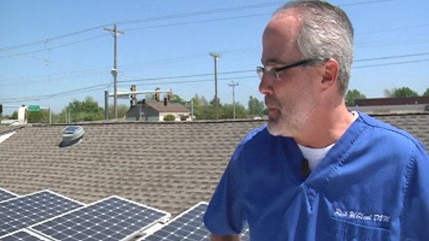 Going Green Is Second Nature For Moore Veterinarian