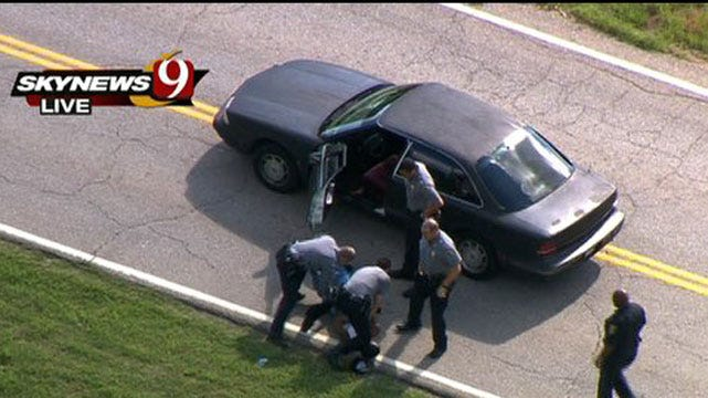 High-Speed Police Pursuit Ends With Arrest In Northeast OKC