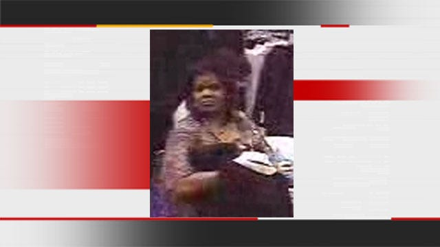 Suspect Uses Stolen Credit Card At OKC Mall