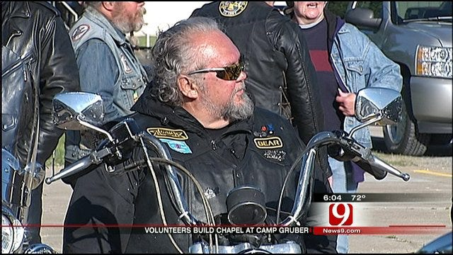 Vets and Supporters Take The Thunderbird Chapel Ride