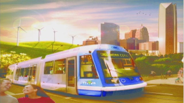 Plans Unveiled For Downtown OKC Streetcar System