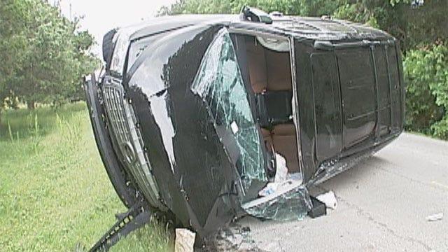 Three Injured In Multi-Car Accident In NE OKC