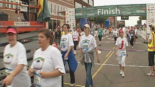 Thousands Run To Remember OKC Bombing Victims, Survivors