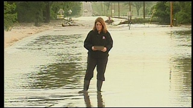 Downpours Cause Flooding In Northern Oklahoma