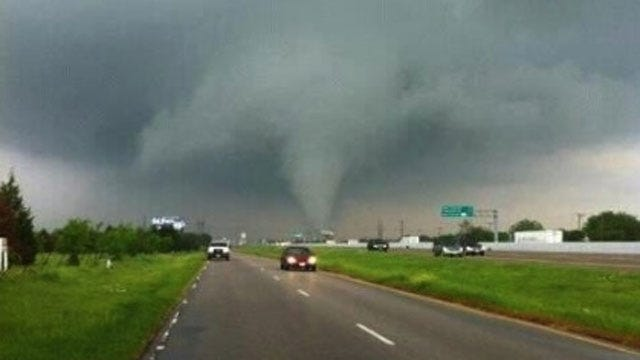 Tornadoes Destroy Homes In Dallas Area, But Don't Claim Lives