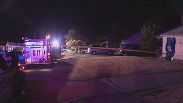 Molotov Cocktail Sparks Fire At Northwest OKC Home