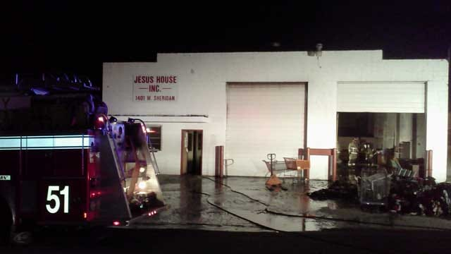 Arrest Made In Suspicious Fire At The Jesus House In OKC