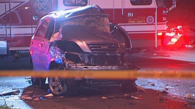 Two Dead In Overnight OKC Crash