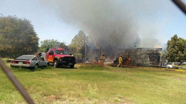 $1 Million In Belongings Lost After Large Shed Fire In Norman