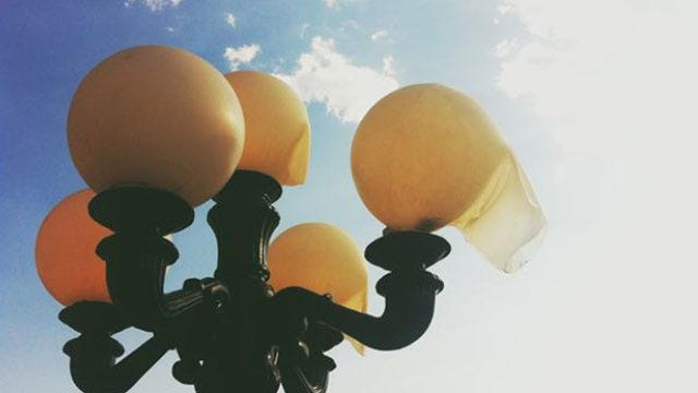 Mystery Of Melted Light Fixtures In Stillwater Solved