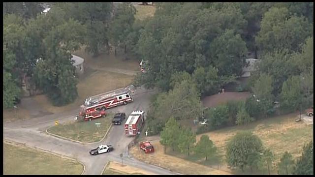 Crews Douse House Fire In SW OKC