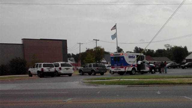 Shooting Near Library In Northeast OKC